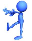 μπλε υπνοβασία τύπων Διανυσματική απεικόνιση