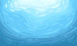 μπλε υποβρύχιος ανασκόπ&eta ελεύθερη απεικόνιση δικαιώματος