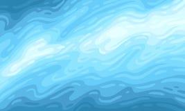 μπλε υποβρύχιος ανασκόπ&eta απεικόνιση αποθεμάτων