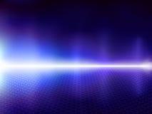 μπλε υπολογιστής ανασ&kapp Στοκ Εικόνες