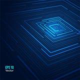 Μπλε υπόβαθρο καλωδίων Στοκ φωτογραφίες με δικαίωμα ελεύθερης χρήσης