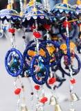 Μπλε υπόβαθρο κοσμήματος σχεδιαστών Στοκ εικόνα με δικαίωμα ελεύθερης χρήσης
