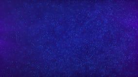 Μπλε υπόβαθρο μορίων απόθεμα βίντεο