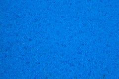 Μπλε υπόβαθρο σύστασης σφουγγαριών Στοκ Φωτογραφία