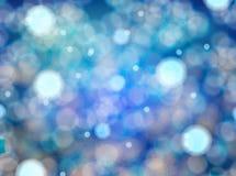 Μπλε υπόβαθρο Bokeh Στοκ φωτογραφία με δικαίωμα ελεύθερης χρήσης