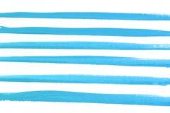 Μπλε υπόβαθρο watercolor χεριών λουλουδιών, απεικόνιση ράστερ διανυσματική απεικόνιση