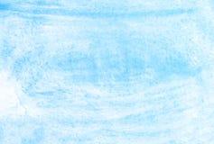Μπλε υπόβαθρο watercolor χεριών οικολογίας, απεικόνιση ράστερ ελεύθερη απεικόνιση δικαιώματος