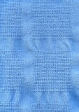 μπλε υφαντική σύσταση υφάσματος στοκ φωτογραφίες