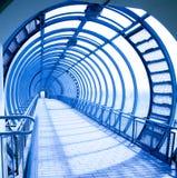 μπλε φανταστική στοά Στοκ εικόνα με δικαίωμα ελεύθερης χρήσης