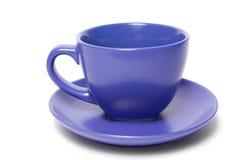 μπλε φλυτζάνι Στοκ Φωτογραφία