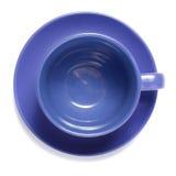 μπλε φλυτζάνι Στοκ Φωτογραφίες