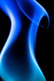 μπλε φλόγα Στοκ Φωτογραφίες