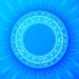 μπλε φουτουριστικός αν& ελεύθερη απεικόνιση δικαιώματος