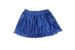 Μπλε φούστα Στοκ φωτογραφίες με δικαίωμα ελεύθερης χρήσης