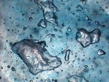 μπλε φυσαλίδες Στοκ Εικόνες