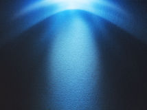 μπλε φως ανασκόπησης Στοκ Εικόνα