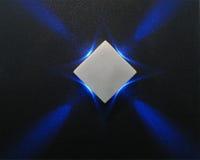μπλε φωτισμός έννοιας νέο&sigm Στοκ φωτογραφίες με δικαίωμα ελεύθερης χρήσης
