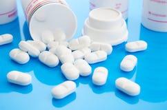 μπλε χάπια Στοκ φωτογραφία με δικαίωμα ελεύθερης χρήσης