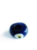 μπλε χαντρών Στοκ εικόνα με δικαίωμα ελεύθερης χρήσης