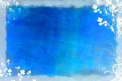 μπλε χειμώνας ανασκόπηση&sigm Στοκ Εικόνες