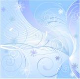 μπλε χειμώνας διανυσματική απεικόνιση