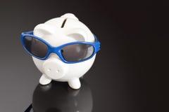 Μπλε χρημάτων Στοκ Φωτογραφίες