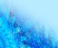 μπλε Χριστούγεννα ανασκόπησης απεικόνιση αποθεμάτων