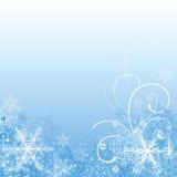 μπλε Χριστούγεννα ανασκό& απεικόνιση αποθεμάτων