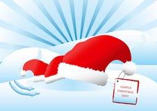μπλε Χριστούγεννα ανασκό& Στοκ φωτογραφίες με δικαίωμα ελεύθερης χρήσης
