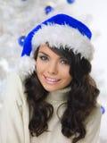 μπλε Χριστούγεννα νεοσ&sigm Στοκ φωτογραφίες με δικαίωμα ελεύθερης χρήσης
