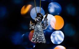 Μπλε Χριστούγεννα σειρά-01 Στοκ Εικόνα