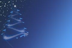 μπλε Χριστούγεννα ελεύθερη απεικόνιση δικαιώματος