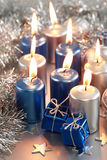 μπλε Χριστούγεννα στοκ φωτογραφία με δικαίωμα ελεύθερης χρήσης