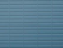 Μπλε χρωματισμένη φωτογραφία υποβάθρου τουβλότοιχος Aqua Στοκ φωτογραφία με δικαίωμα ελεύθερης χρήσης