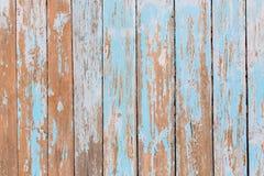 Μπλε χρωματισμένο κρητιδογραφία ξύλινο υπόβαθρο Ξύλινο γρατσουνισμένο αφηρημένο υπόβαθρο στοκ εικόνα με δικαίωμα ελεύθερης χρήσης