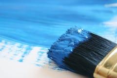 μπλε χρώμα Στοκ Φωτογραφίες