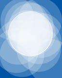 μπλε ψηφιακό πλαίσιο Διανυσματική απεικόνιση