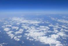 μπλε όψη ουρανού σύννεφων Στοκ Εικόνες