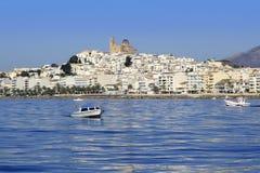 μπλε όψη της Ισπανίας θάλα&sigm Στοκ εικόνες με δικαίωμα ελεύθερης χρήσης