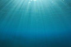μπλε ύδωρ ανασκόπησης Στοκ Φωτογραφίες