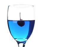 μπλε ύδωρ κερασιών Στοκ εικόνες με δικαίωμα ελεύθερης χρήσης