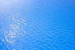 Μπλε ύδωρ λιμνών Στοκ Εικόνες