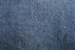 Μπλε ύφασμα τζιν Στοκ Εικόνα