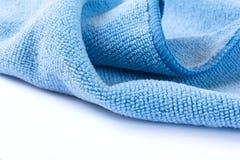 Μπλε ύφασμα Στοκ Φωτογραφίες