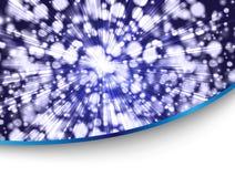 μπλε ύφος καρτών Στοκ φωτογραφίες με δικαίωμα ελεύθερης χρήσης
