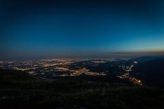 Μπλε ώρα στο ενετικό prealp Στοκ εικόνες με δικαίωμα ελεύθερης χρήσης