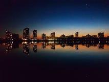 Μπλε ώρα του Κίεβου Στοκ εικόνα με δικαίωμα ελεύθερης χρήσης
