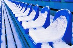 μπλε 3 πάγκων Στοκ φωτογραφίες με δικαίωμα ελεύθερης χρήσης