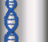 μπλε DNA ελεύθερη απεικόνιση δικαιώματος