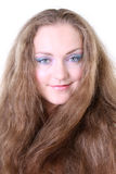 μπλε eyed μακροχρόνιο πορτρέτ&o Στοκ φωτογραφία με δικαίωμα ελεύθερης χρήσης